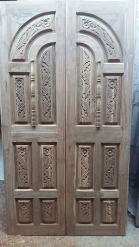 Carving Wooden Door
