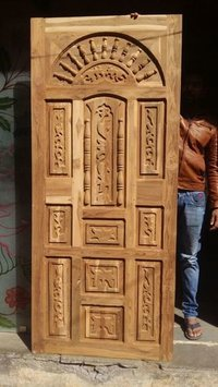 Carving Wood Door