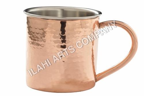 Round Copper Mug