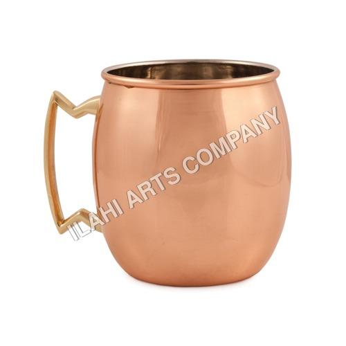 Plain Copper Mug