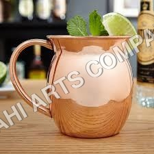 Plain Copper Moscow Mule Mug