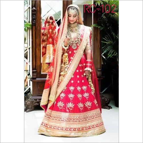Designer Wedding Work  Lehenga Choli