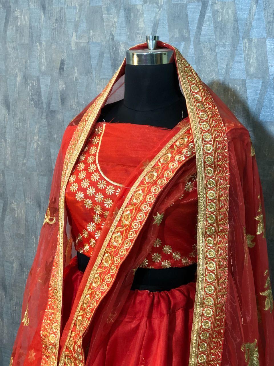 Designer Wedding Work  Lehenga Choli