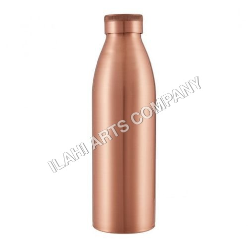 Copper Bottle With Copper Cap