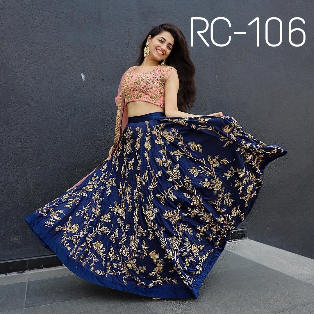 Designer Simple  Lehenga Choli