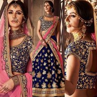 Designer Embroidered Lehengas Choli