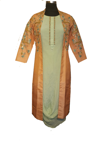 jacket with kurti