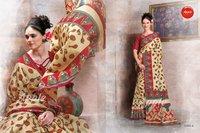 Fancy Printed Silk Sarees