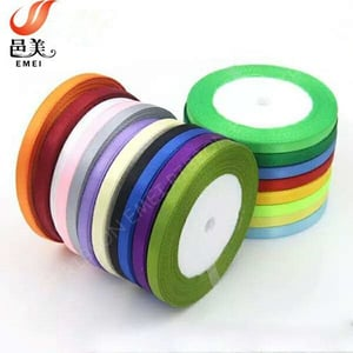 Single Faced Polyester Satin Ribbon