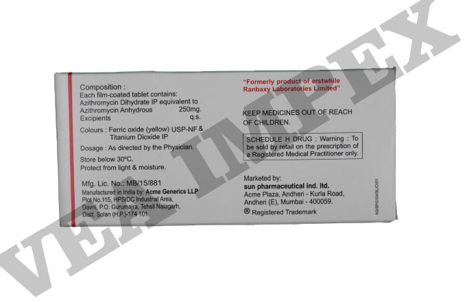 Azax 250 mg Tablets