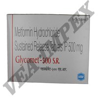 Glycomet 500mg SR Tablets