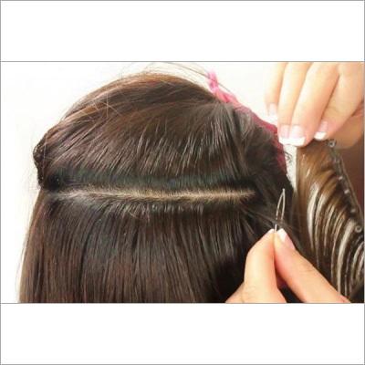 Ladies Hair Weaving Service