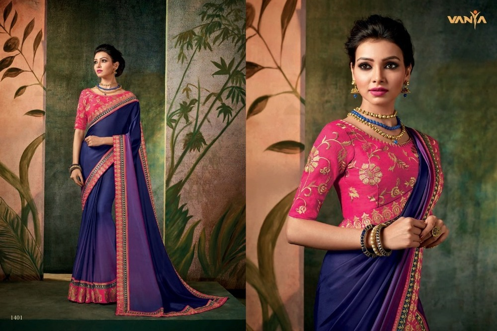 Fancy Designer Silk Sarees Collection