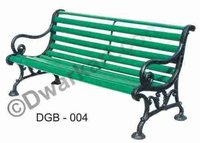 Handcrafted Cast Iron Garden Bench