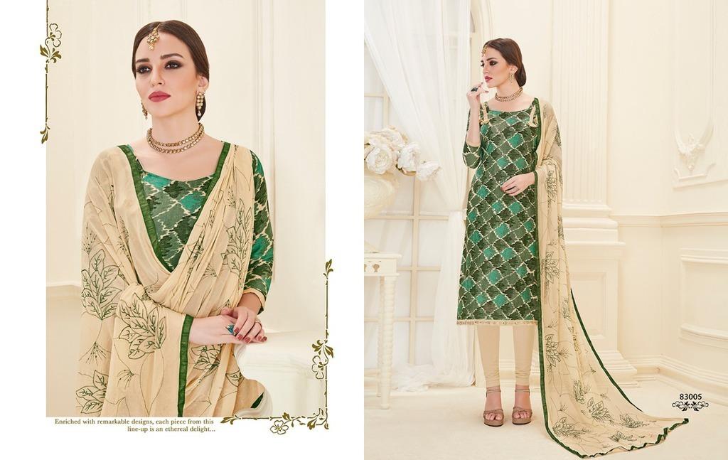 Ladies Cotton Unstitched Salwar Suit