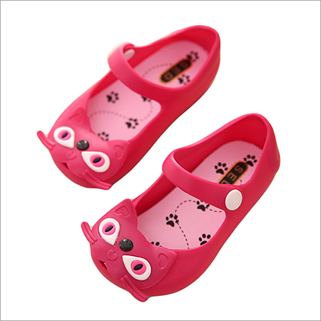 Kids Red Color Fancy Shoe
