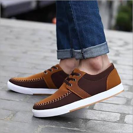 Men's Brown Color Sneaker