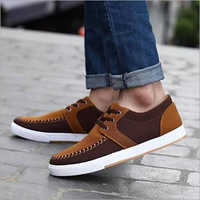 Men's Brown Color Sneaker