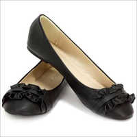 Black Flat Belly Shoes