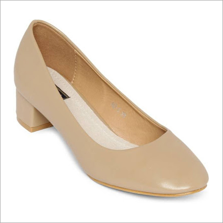 Light Brown High Heel Belly Shoe