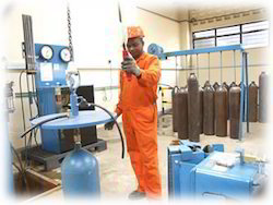 Gas Cylinder Testing Service