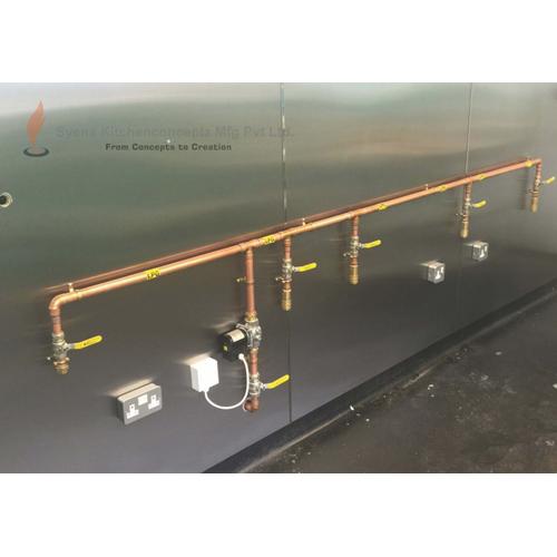 GI Gas Pipe Line