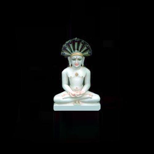 Marble Mahaveer Jain Moorti