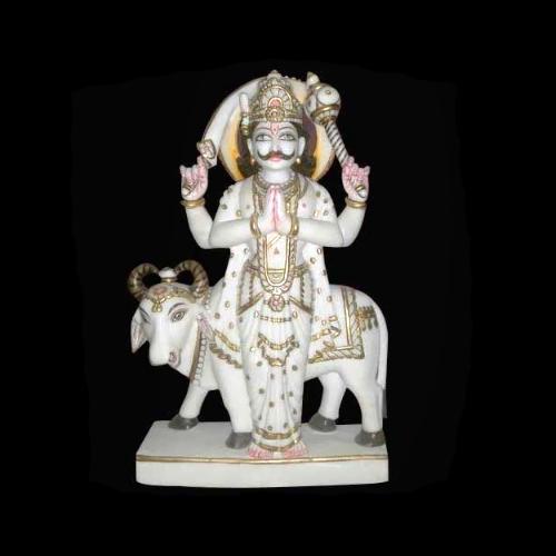 Marble Shani Moorti