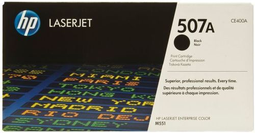 HP CE400A (BLACK)  TONER CARTRIDGE