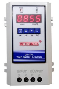 Digital Time Switch And Clock