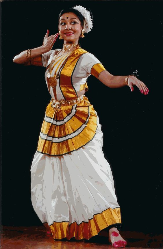 Mohiniattam Dance Saree