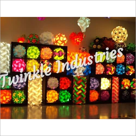 Decorative Puzzle lamp