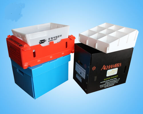 Corrugated Plastic Shipping Boxes