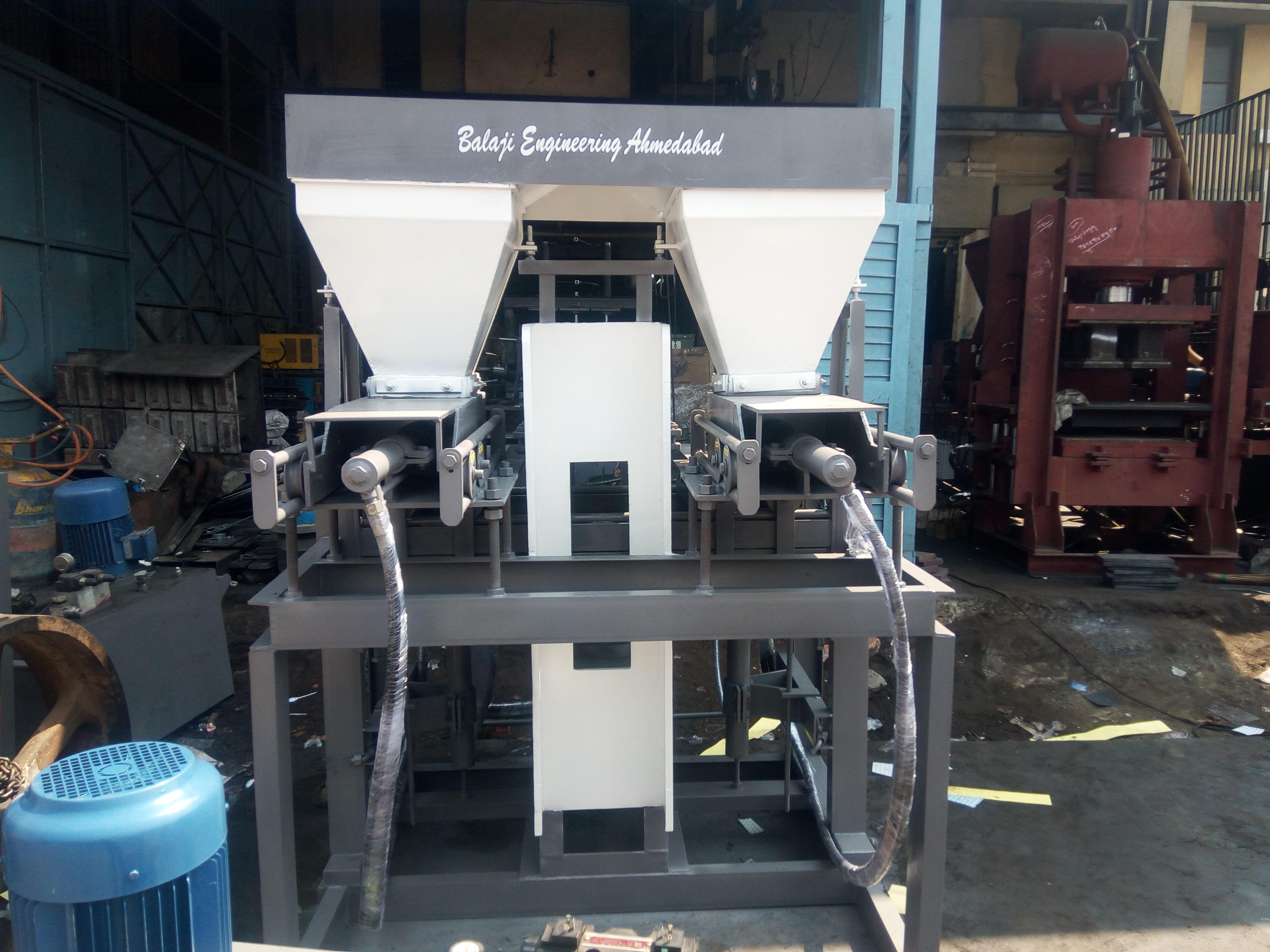 BEW - SA6050 Semi Auto Fly Ash Bricks & Block Making Machine (2 in 1 Slider)