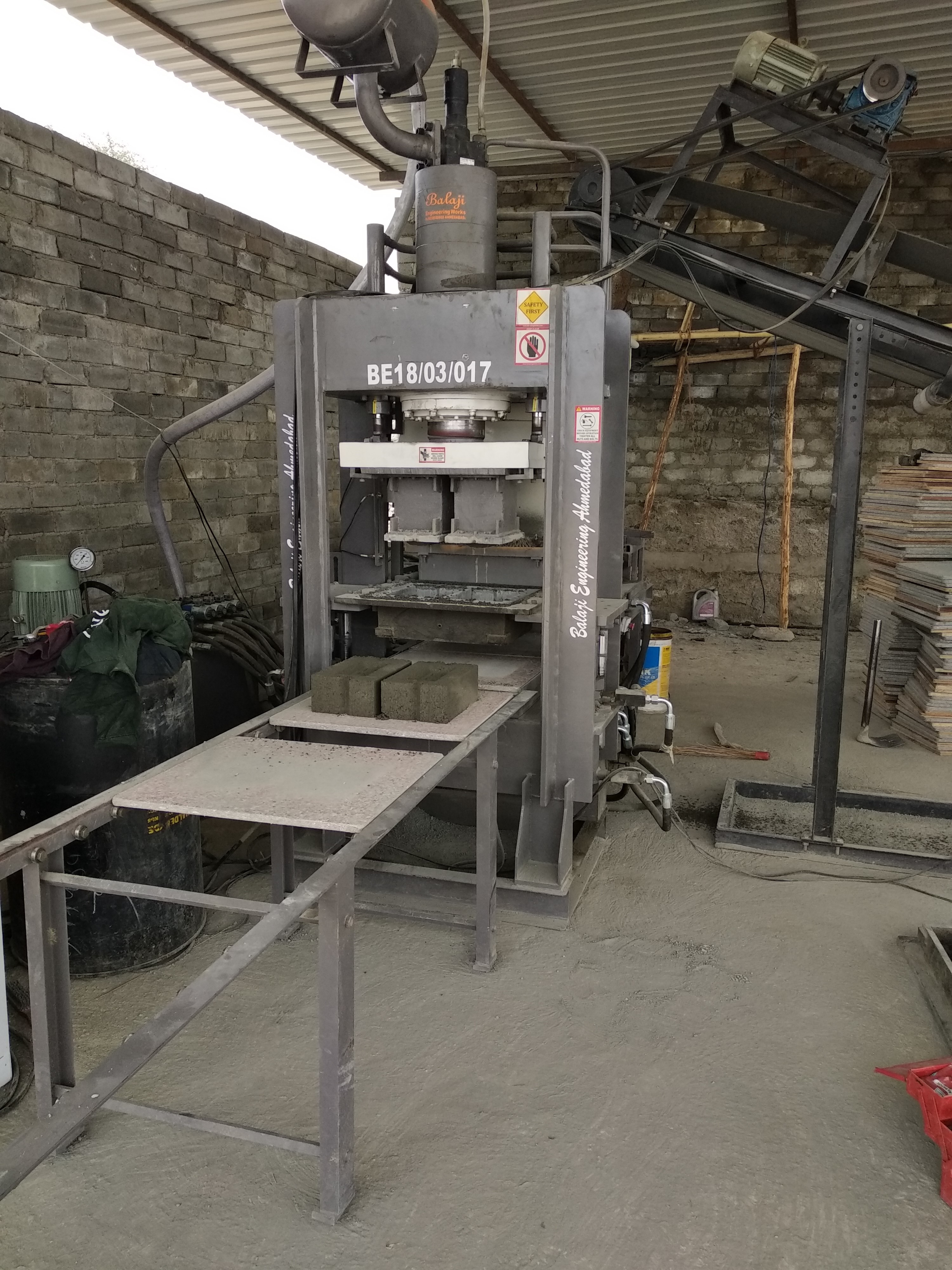 BEW - FA120 Automatic Fly Ash Bricks Making Machine