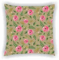 Floral Digital Print Cushion Cover