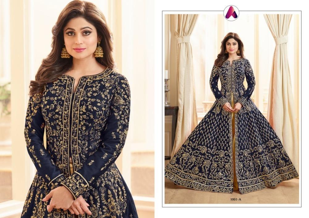 Party Wear Heavy Work Anarkali Suits