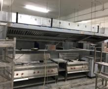 Kitchen Exhaust Fresh Air System