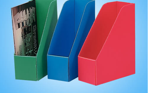 Corrugated Plastic File Boxes
