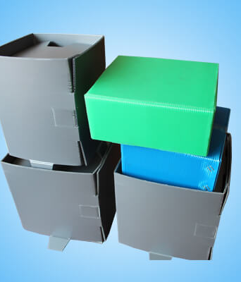Corflute Collapsible Corrugated Boxes