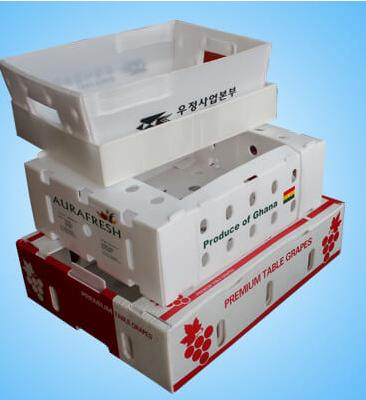 Foldable Vegetable Corrugated Boxes