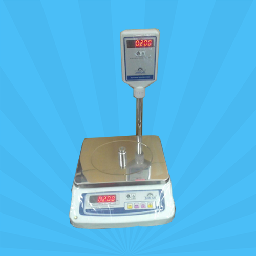 Metal Body Pole Display Scale