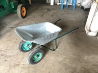 Multipurpose double wheel barrow
