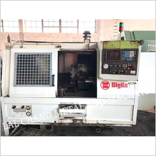 5 AXIS CNC LATHE MACHINE BIGLIA