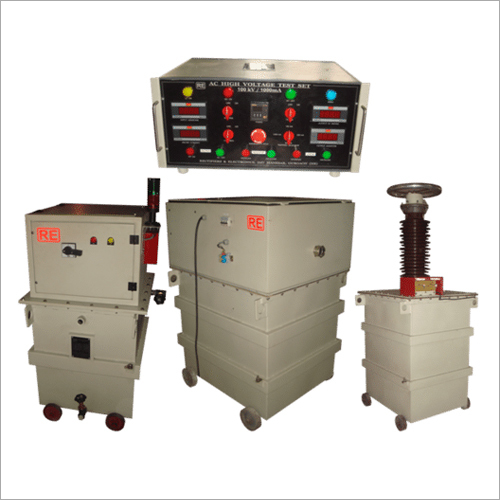 AC High Voltage High Capacity Tester ( From 0 - 800kV and Up to 4A)