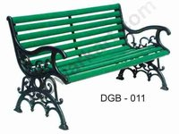 Italian Cast Iron Garden Bench
