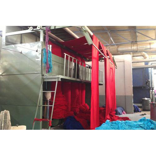 Fabric Pole Dryer Machine