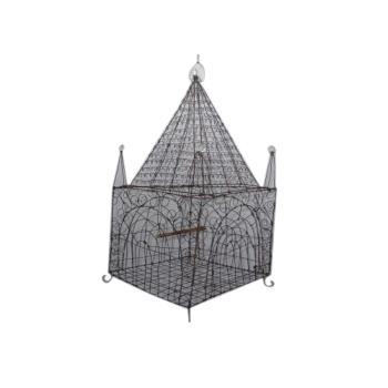 Handmade French Wirework Bird Cage