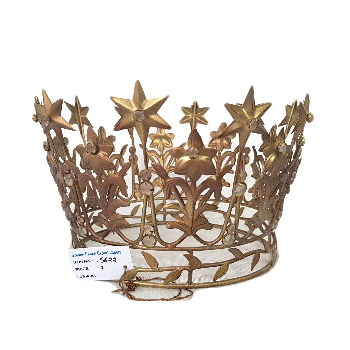 Metal Decorative Crown