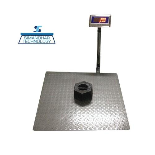 900X900 Heavy Duty Platform Scales 500 Kg